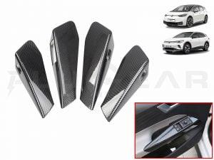 VW ID.3,ID.4_Interior Door Handle Cover Set (ABS + Coating, 4 pcs)
